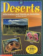 Deserts : Information and hands-on Activities by Robin Bernard (1995, Paperback)