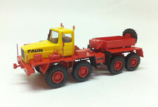 Fertigmodelle Resin HO 1/87 Faun HZ 46.40/49 8x8 TRANSPORT – DDR 1975