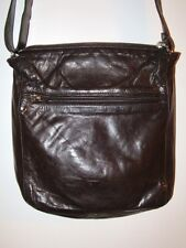 EUC Rare m0851 Rugby North America Leather Shoulder Bag Dark Brown Crossbody