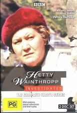 Hetty Wainthropp Investigates The Complete Fourth Series 4 Four DVD NEW