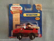 Thomas and Friends wooden railway train ** WINSTON ** ~ New in package