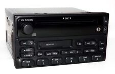 Ford E150 Van 1999 AM FM CD Cassette OEM Radio w Auxiliary 3.5mm iPod mp3 Input