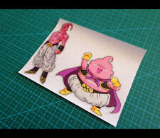 2 Pics evil Majin Buu & Fat Buu DRAGON BALL Car Reflective Sticker #013