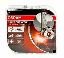 Osram D2S P32d-2 66240 XNB Night Breaker UNLIMITED Xenarc +70% più luminosa +TOP