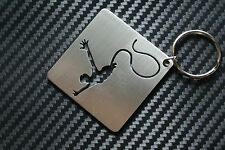 BUNGEE JUMPING Climbing Sky Diving Cliff Extreme Sport Keyring Keychain Key Fob