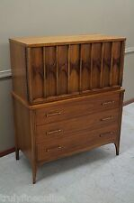 Perspecta Highboy Chest of Drawers MID CENTURY Dresser Modern Excellent Brasilia