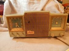 Vintage General Electric Musophonic Model 580 Clock and Radio Blue