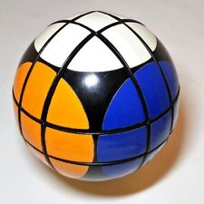 RUBIK'S BALL, vintage 1980's large 9.5cm sphere-shaped Rubik's cube!