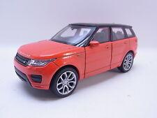 LOT 40761   Welly Range Rover Sport orange-schwarz Modellauto 1:40 NEU