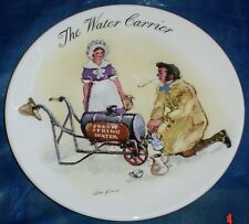 Wedgwood Collectors Plate THE WATER CARRIER From STREET SELLERS OF LONDON