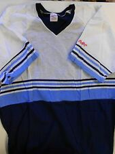 NOS Vtg '80's Rawlings Baseball Jersey Size Adult XX-Large Blue Navy White USA