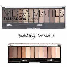 Technic Eyeshadow Palette Mega Matte Nudes ,Brown & Natural Shades FAST P&P