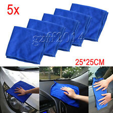5x Absorbent Microfiber Towel Car Home Kitchen Washing Cleaning Clean Wash Cloth