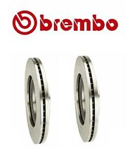 2 Pack Brembo Front Rotors Discs Brake Disc Rotor Set Pair NEW For Nissan Altima