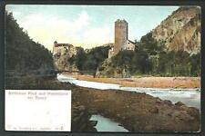 Schlösser Ried und Runkelstein ( Bolzano ) - cartolina indicativamente anni '20
