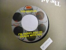 BEATLES I'm Happy Just To Dance/Movie Medley 45 RPM Capitol Records VG