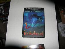 Snakehead by Anthony Horowitz (2007) SIGNED 1st/1st