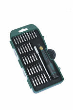 Mannesmann Precision Screwdriver Set 36 pcs. High Class S2 Steel VPA GS TUV