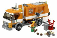 Lego 7991 City Town Recycle Truck Camion Poubelle + Notice de 2007