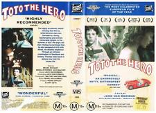 TOTO THE HERO - DRAMA  *RARE VHS TAPE*  FRENCH(ENGLISH SUBTITLES)