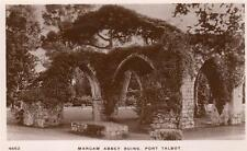 Margam Abbey Ruins Port Talbot unused RP old pc WHS Kingsway 4663