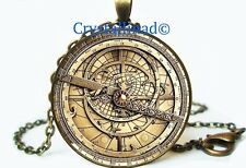 Steampunk Gravity Falls BILL CIPHER WHEEL Necklace Collectible Jewelry Gift