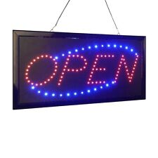 Open Led Neon Business Motion Light Sign. On/off with Chain