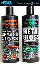 Master Formula Metal Gloss Sealer Gloss - Auto Motorcycle Brass Chrome Polish