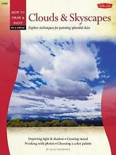 Oil & Acrylic: Clouds & Skyscapes (How to Draw & Paint), Sonneman, Alan