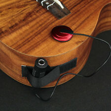 Piezo Contact Microphone Pickup for Acoustic Classical Guitar Ukulele Folk New