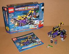 5982 LEGO Space Police Smash 'n Grab 100% Complete box Instructions EX COND 2010
