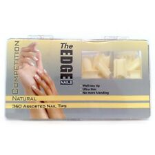 The Edge Nails - Box of 360 Assorted Competition Nail Tips - Ultra Thin!