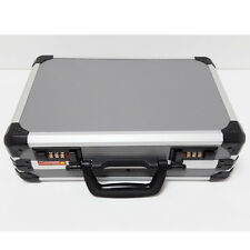 """Laptop Briefcase 12.9""""x4""""x9""""  Aluminum Sturdy Carry Business Number Lock Safe"""