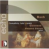 Bach - Complete Lute Music; Ciaccona, , Very Good Double CD