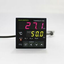 12V Digital PID INKBIRD Temperature Controller ITC-100RL Thermostat Temp Measure