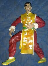 UNKNOWN 8 inch JAPANESE MAN IN KIMONO FIGURE ANGRY LOOKING AND SNARLING