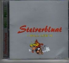(BB642) Steiverbluat, I Will Leb'n - CD