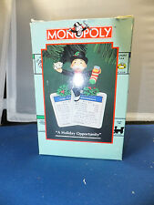 Monopoly Ornament Holiday Opportunity 1994 Enesco Parker Bros Boardwalk Property