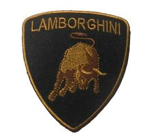 LAMBORGHINI embroidered badge Patch 7.5x8.5 cm
