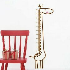 Removable Home Wall Decor Decal/Sticker Kid Cute Giraffe Height Chart Measure