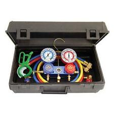 Mastercool 89660-PRO5 - R134A Manifold Gauge Set with Free 3-IN-1 Can Tap Valve