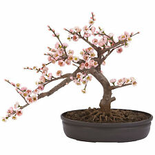 ARTIFICAL SILK CHERRY BLOSSOM BONSAI TREE HOME OFFICE DECORATION