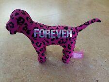 ❤️ VICTORIA'S SECRET PINK FOREVER DOG - patterned leopard spots - love valentine