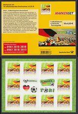 Bund Markenheftchen 88 I ** Fußball 2012  10 x Nr. 2936  selbstklebend