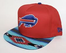 PICK1 Buffalo Bills Native Brim 9FIFTY New Era A-Frame SnapBack Red