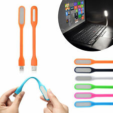 Flexible USB LED Bright Light for Laptop Reading Camping DJ Keyboard Silicone PC