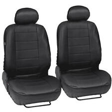 ProSynthetic Black Leather Auto Seat Covers for Hyundai Elantra