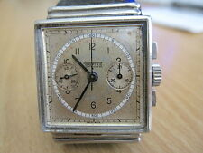 VINTAGE, PONTIAC TWO REGISTER SQUARE CHRONOGRAPH WRISTWATCH, V-69