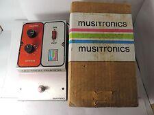 VINTAGE MU-TRON PHASOR I PHASER PHASE SHIFTER MUSITRONICS w/ORIGINAL BOX!!!