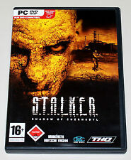 STALKER - SHADOW OF CHERNOBYL - PC DVD - S.T.A.L.K.E.R. - FSK 18